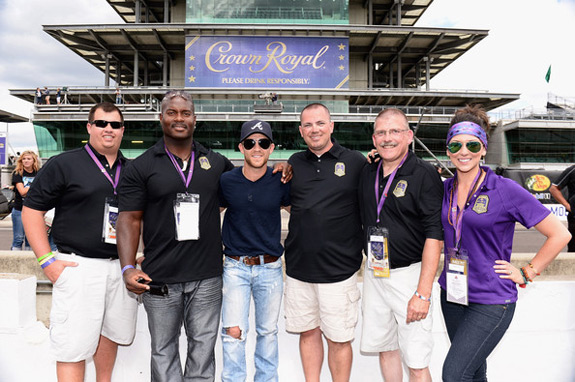 Crown Royal Presents Samuel Deeds Justin Moore Brickyard
