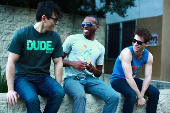 Dude Be Nice T Shirts