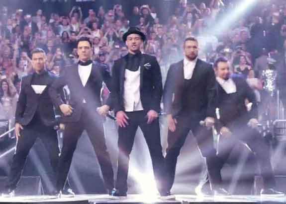 Justin Timberlake NSYNC MTV VMA Performance
