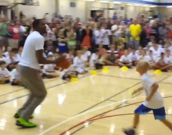 Kevin Durant Not Nice To Kids