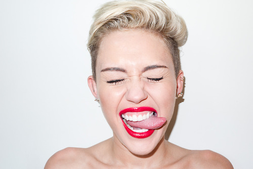 Miley Cyrus Terry Richardson Studio