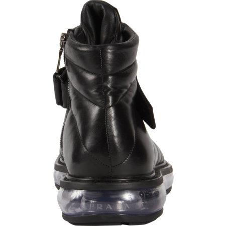 Prada Velcro Strap Laceup Boot 4