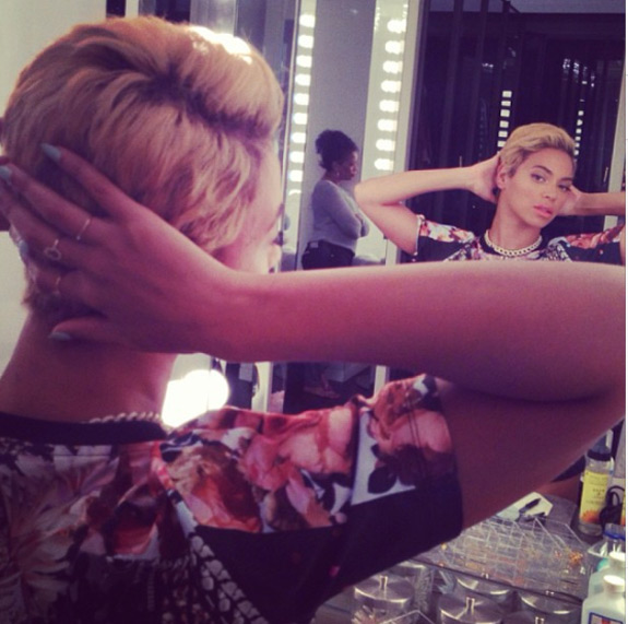 Beyonce Cut Off Hair Beyonce Short Hair Cut