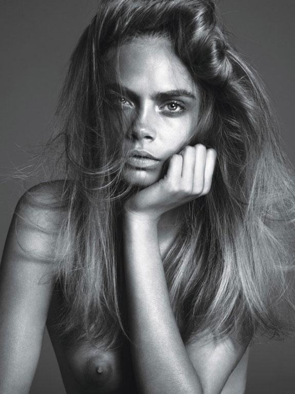 Cara Delevingne British Model Cover Story
