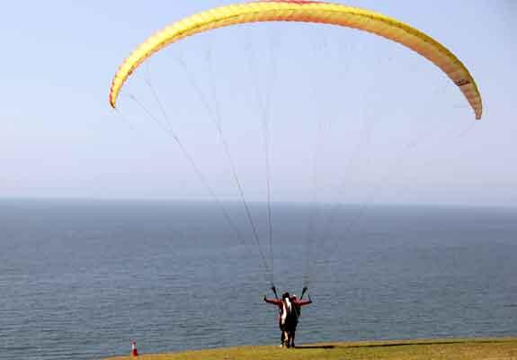 Paragliding San Diego