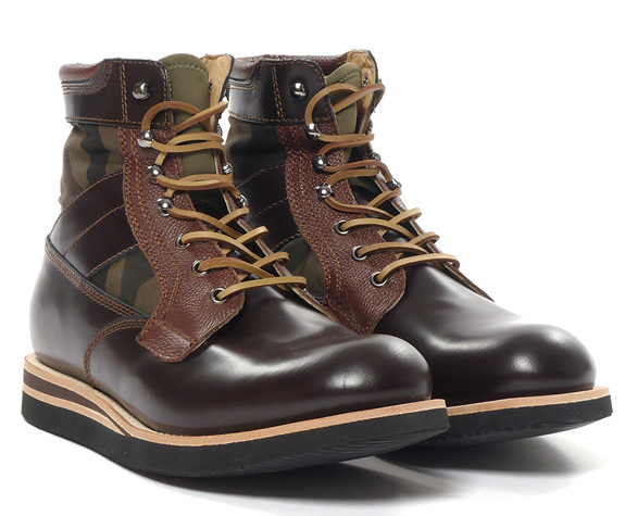BePostitive Army Boot Brown 1