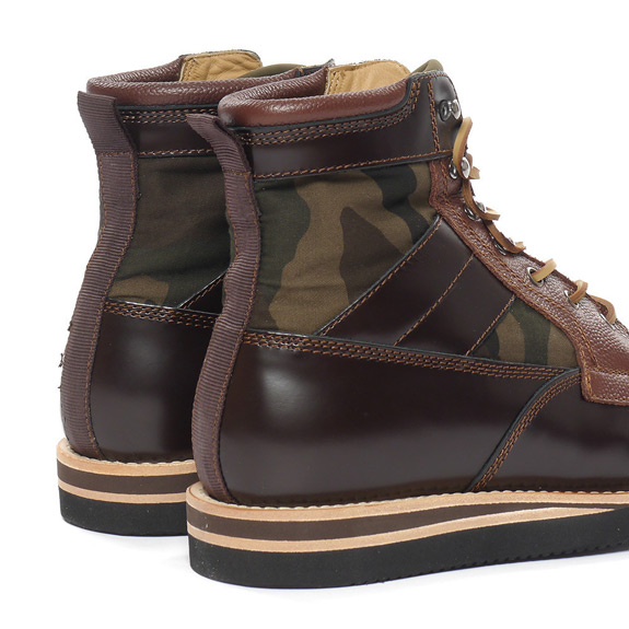 BePostitive Army Boot Brown 2