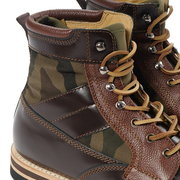 BePostitive Army Boot Brown 3