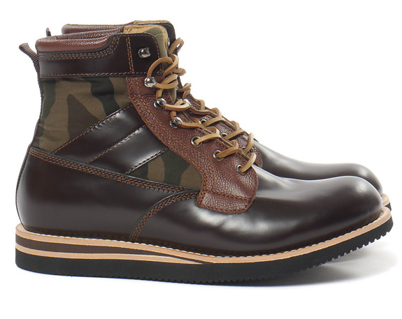 BePostitive Army Boot Brown
