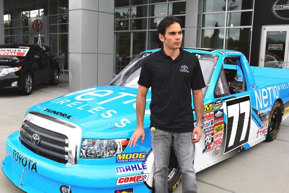German Quiroga NASCAR Toyota