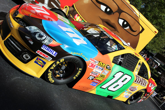 Kyle Busch Joe Gibbs Racing NASCAR Car