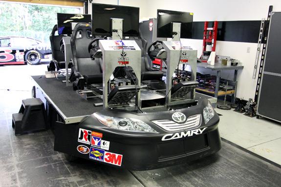 Toyota Camry NASCAR Simulator