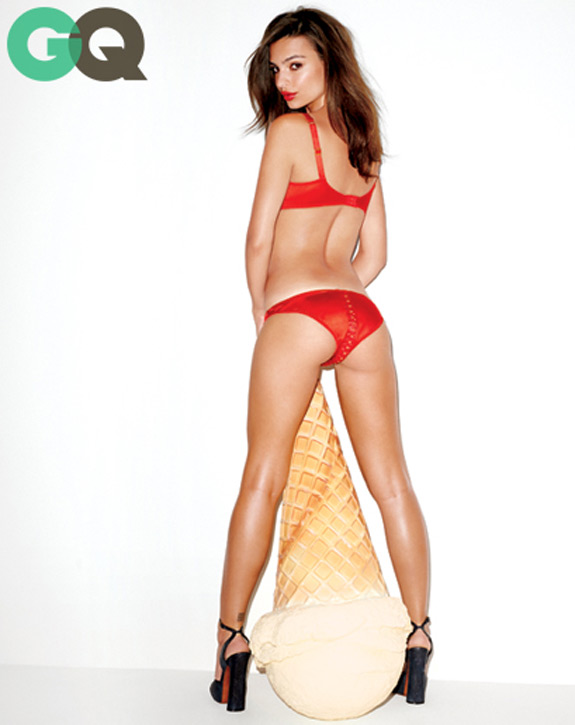 Emily Ratajkowski Gq Magazine November 2013 Women