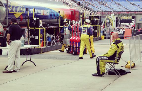 Gas Nascar Charlotte Speedway