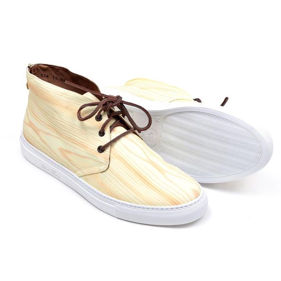 Del Toro Woodgrain Alto Chukka Sneaker