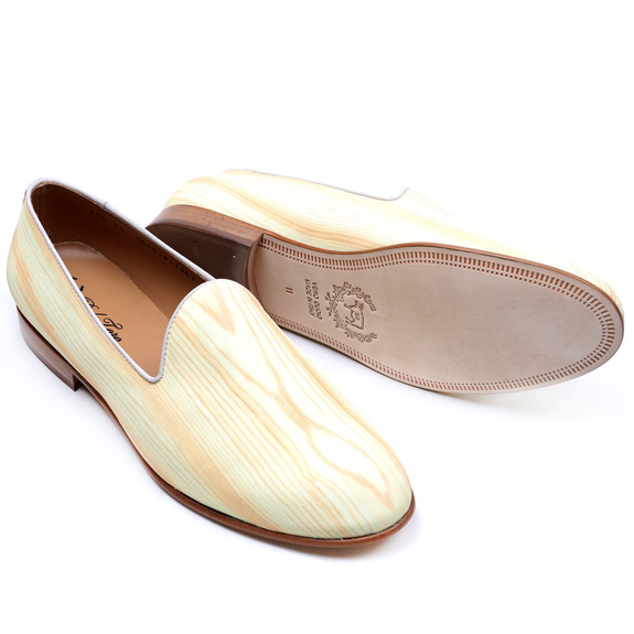 Del Toro Woodgrain Slippers