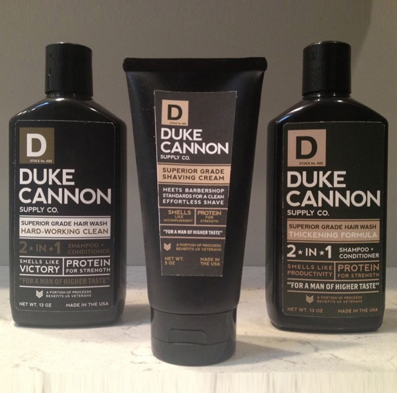 Duke Cannon 2 In 1 Hair Wash