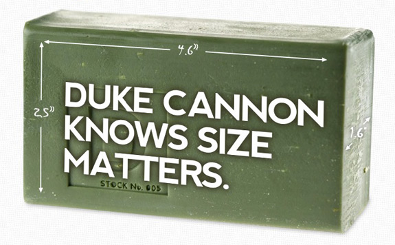 Duke Cannon Big Ass Bricks Soap