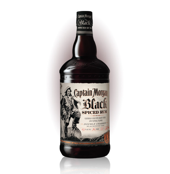 Captain Morgan Black Spiced Rum 1