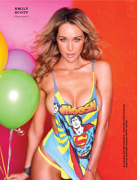 Emily Scott Fhm Magazine Turkey