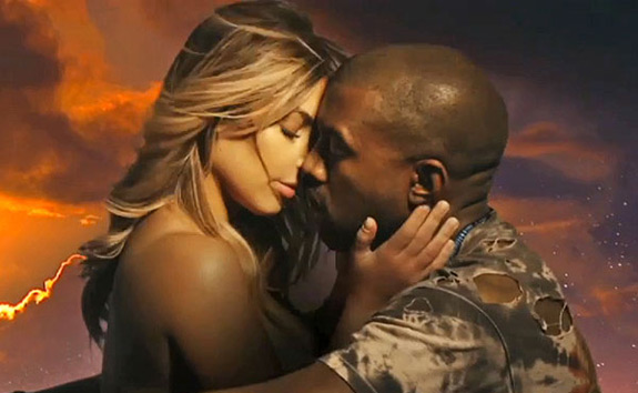 Kanye West Kim Kardashian Bond 2