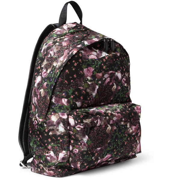 Givenchy Floral Print Backpack