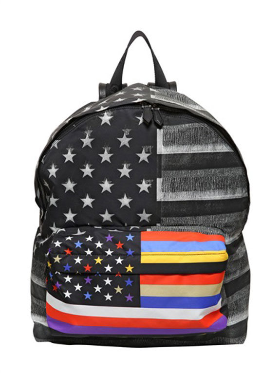 Givenchy Nylon American Flag Backpack