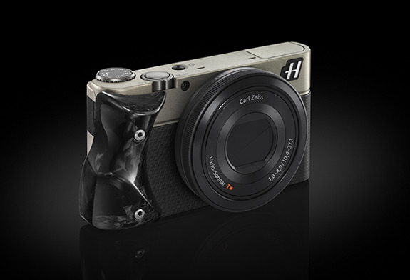 Hasselblad Camera Black With Carbon