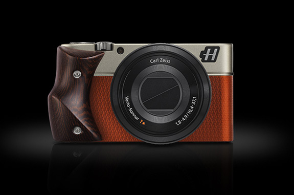 Hasselblad Camera Orange With Wenge