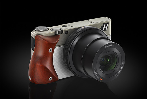 Hasselblad Camera White With Padouk
