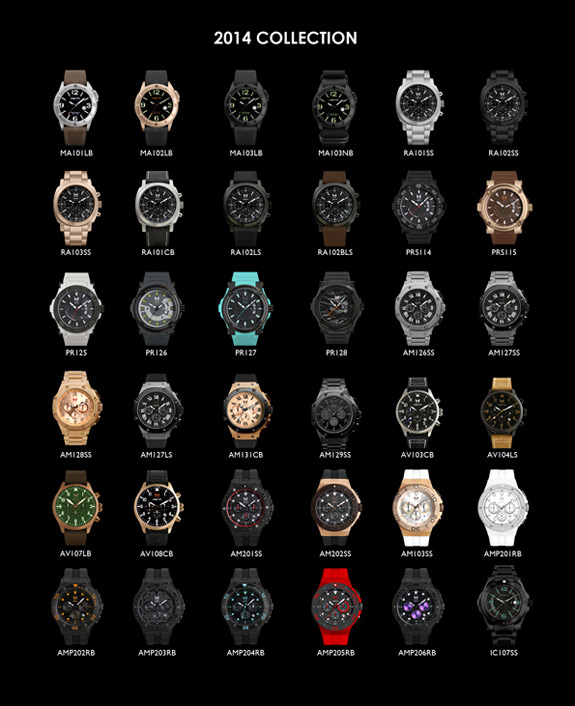 Meister MSTR Watch 2014 Collection