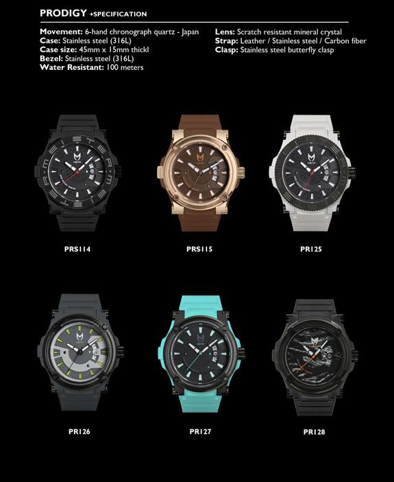 Meister MSTR Watch Prodigy 2014