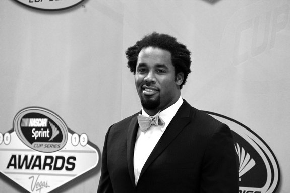 NASCAR Vegas Champions Week Awards Dhani Jones 28