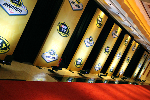NASCAR Vegas Champions Week Awards Red Carpet 13