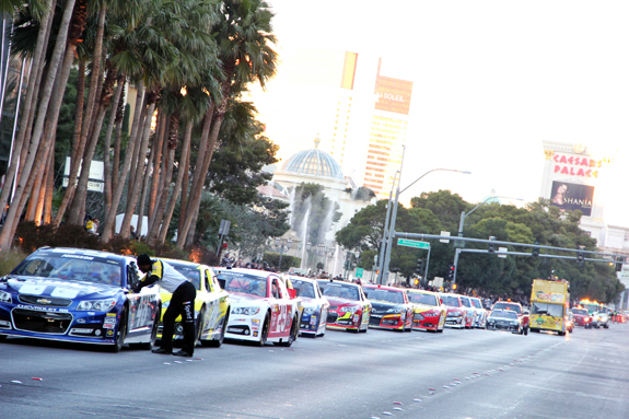 NASCAR Vegas Champions Week Blvd Strip 22