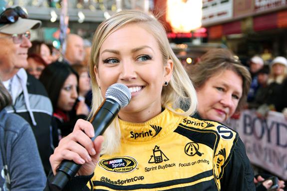 NASCAR Vegas Champions Week Fanfest Miss Sprint Cup