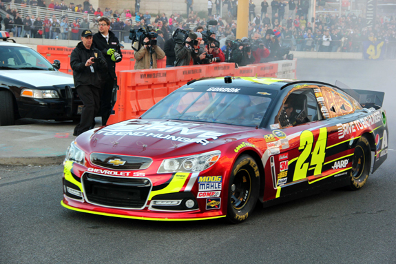 NASCAR Vegas Champions Week Jeff Gordon 20
