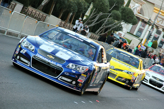 NASCAR Vegas Champions Week Jimmie Johnson Blvd 21