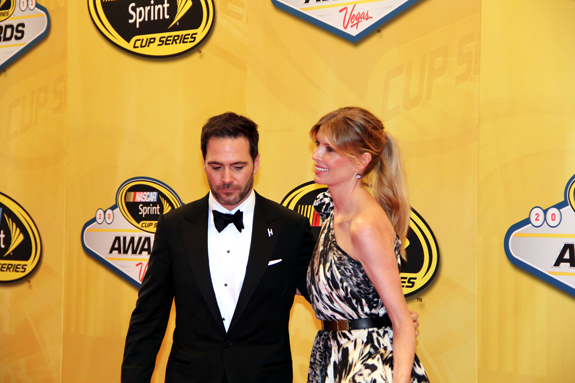 NASCAR Vegas Champions Week Jimmie Johnson Wife 11