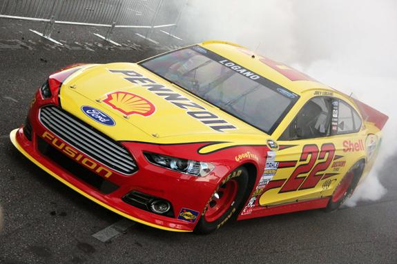 NASCAR Vegas Champions Week Joey Logano 24