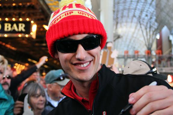 NASCAR Vegas Champions Week Joey Logano Autographs 36