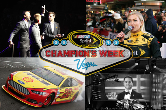 NASCAR Vegas Champions Week Photos
