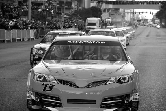NASCAR Vegas Champions Week Victory Lap 26