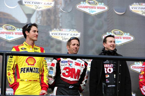 NASCAR Vegas Champions Week Victory Lap3 3