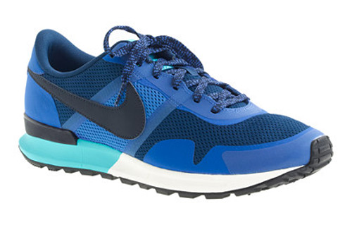 Nike J Crew Vintage Collection Air Pegasus 83 Sneaker Blue