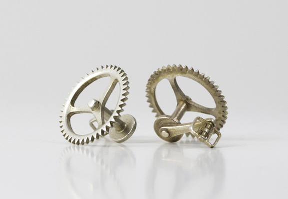 Bicyle Chain Ring Cufflinks