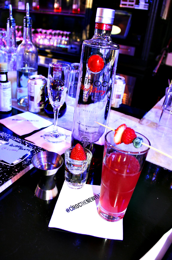 Ciroc Red Berry Mixology