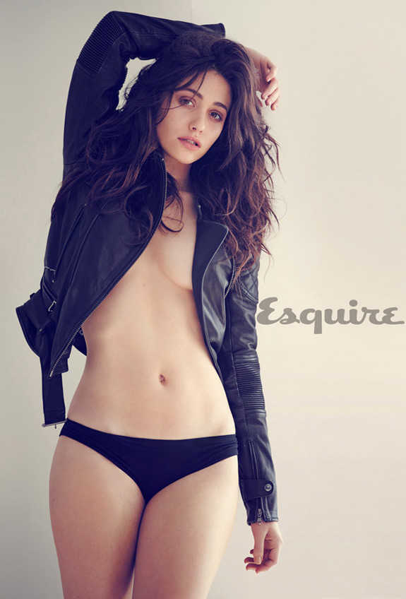 Emmy Rossum Esquire