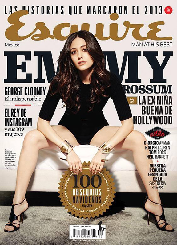 Emmy Rossum Esquire Mexico