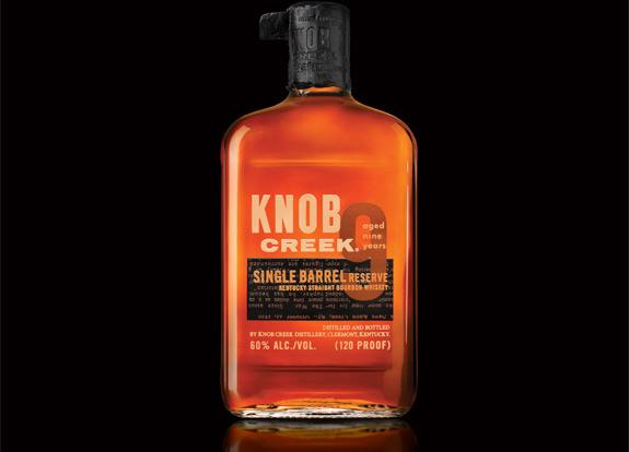 Knob Creek Single Barrel Reserve Bourbon Whiskey